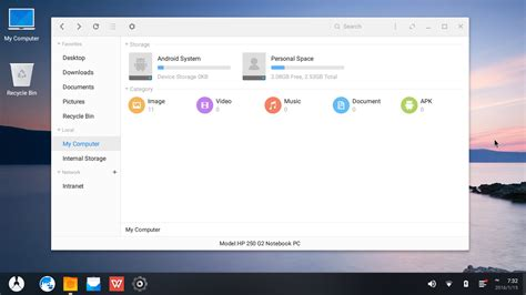Browsing the Net: Phoenix OS - Android for x86 Desktop PC