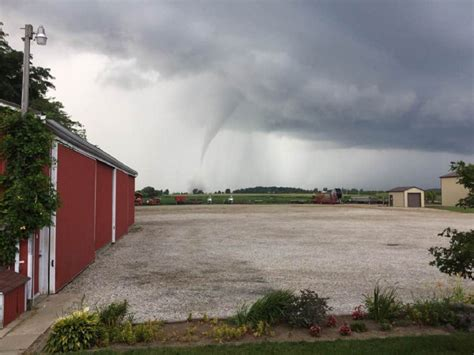 Environment Canada investigating two possible tornadoes in
