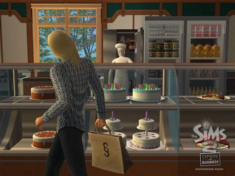 The Sims 2 Open For Business Assets