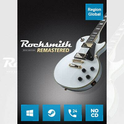 Rocksmith 2014 Remastered Edition for PC Game Steam Key