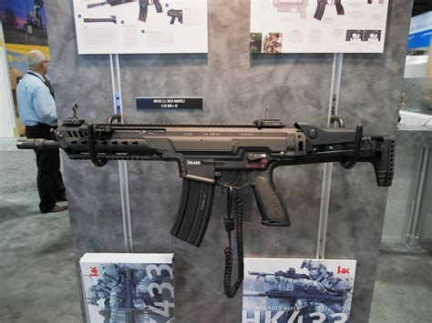 The HK433: Up Close and Personal at [AUSA 2017] - The