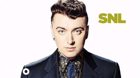 Sam Smith - Stay With Me (Live on SNL) - YouTube