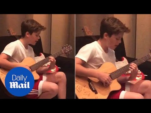 """11-Year-Old Cruz Beckham Covers Justin Bieber's """"Home to"""