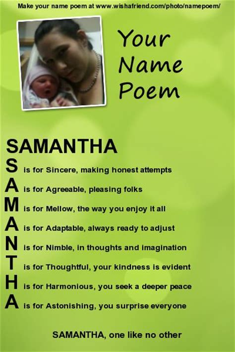 Acrostic Name Poem, Acrostic Poem For Your Name | Acrostic