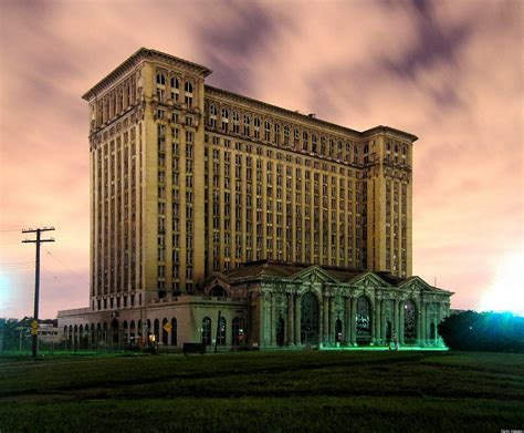 Detroit's Famously Decaying Old Train Station Has 5 New