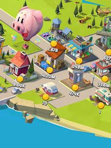 Idle City Empire MOD (Unlimited Gems/Coins) 3
