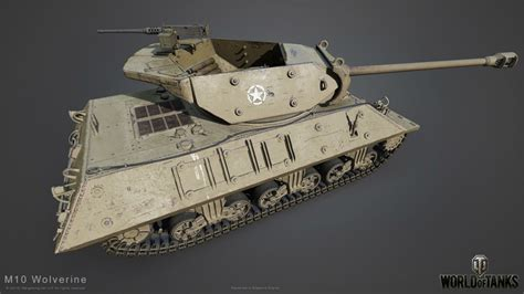 M10 Wolverine and Pershing in HD   World of Tanks 1