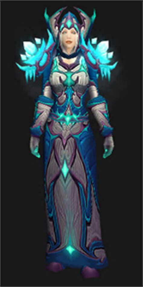 Frostfire Regalia - Transmog Set - World of Warcraft