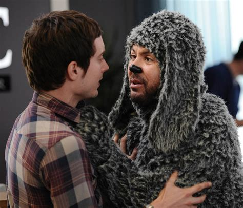 Elijah Wood in 'Wilfred' on FX - Review - The New York Times
