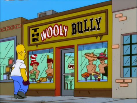 The Wooly Bully - Simpsons Wiki