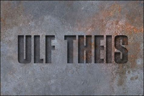 Photoshop: Text Effects – Inside Rusted Text - ulf-theis