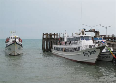 How to get from Koh Samui to Hat Yai Thailand bus and