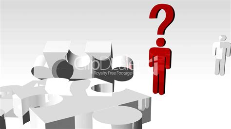 Confused Businessman Animation: Royalty-free video and