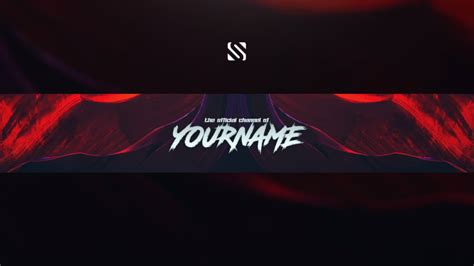 Create your youtube channel banner by Zikkgraphics