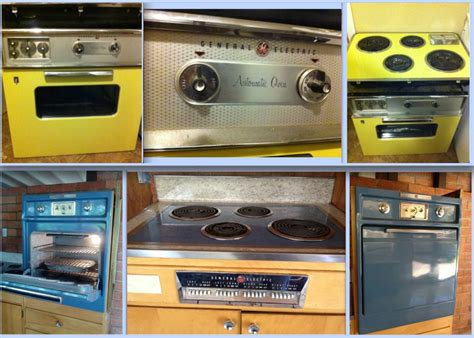 """GE Stoves - 1950-60s Wall Ovens & 1957 GE 30"""" 30"""""""
