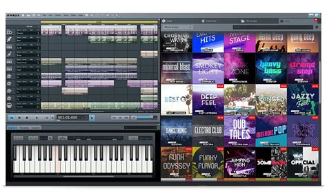 Music Mixing Software – Music Maker Live Edition
