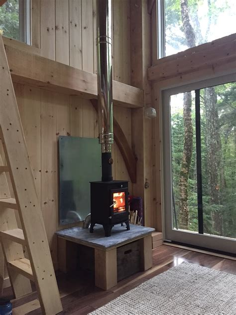 Writer's Cabin Raised and Enclosed