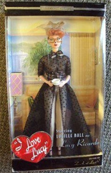 I LOVE LUCY Mattel BARBIE Doll LUCILLE BALL L