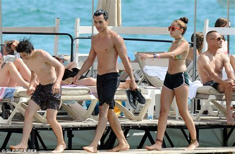 Lourdes soaks up the sun on yacht with mother Madonna's