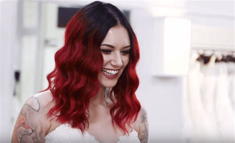 Cervena Fox Visits Say Yes to the Dress - Tattoo Ideas