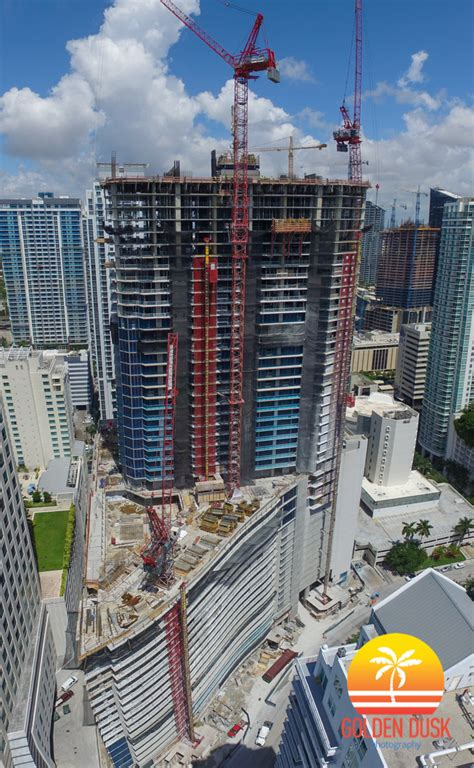 Panorama Tower Reaches 46th Floor — Golden Dusk Photography