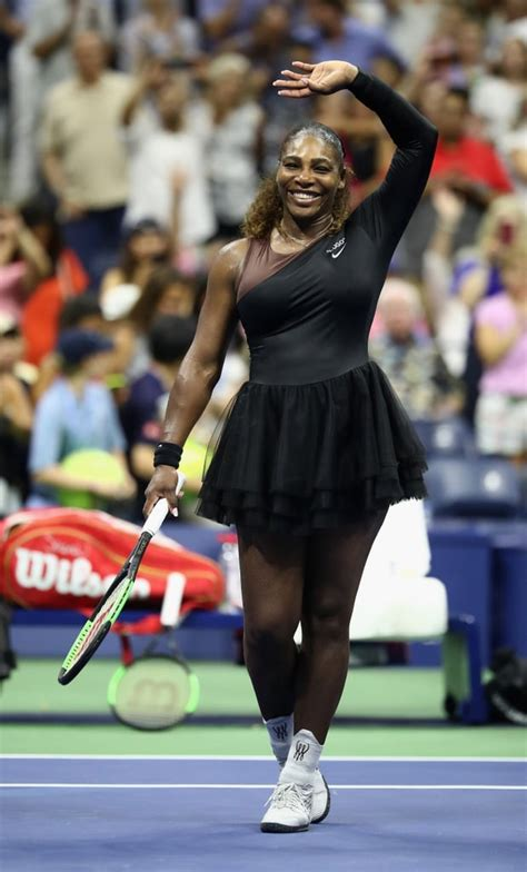She Shed Her Jacket When She Took the Court | Serena