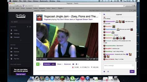 YOGSCAST ZOEY FACECAM / FACE REVEAL -REAL- (Yellow