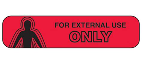 Item 2018 - For External Use Only Labels