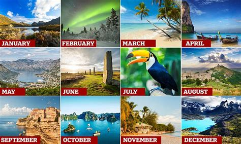 Lonely Planet reveals best places to go every month in new