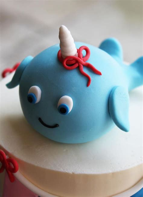 narwhal cakes - Google Search | Music note cake, Birthday