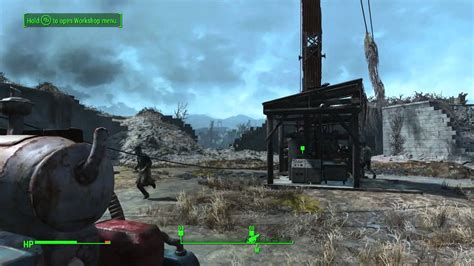 """Fallout 4 Turning On The Radio Tower """"Taking Independence"""