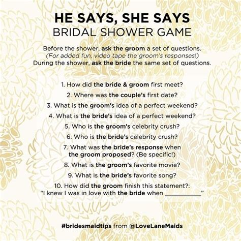 Game on, #bride & groom! Quiz the couple with this fun