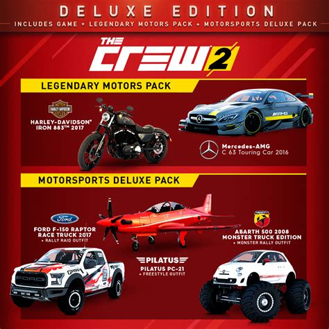 Buy The Crew 2 Deluxe Edition for PS4, Xbox One and PC