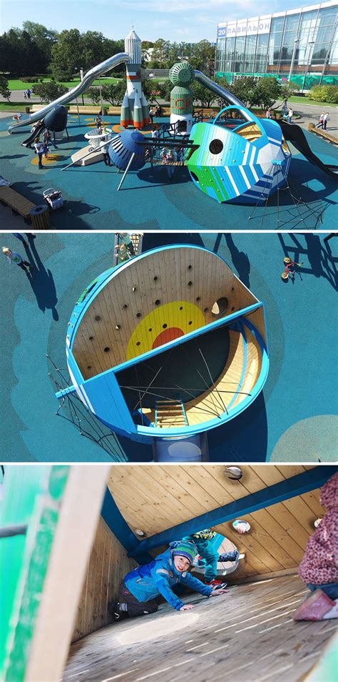 The worlds best playgrounds by Danish design firm Monstrum