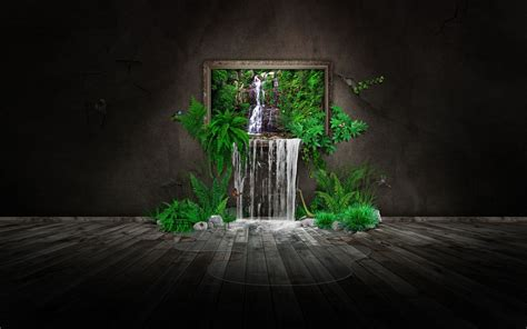 Beautiful Nature Illusion   HD Nature Wallpapers for