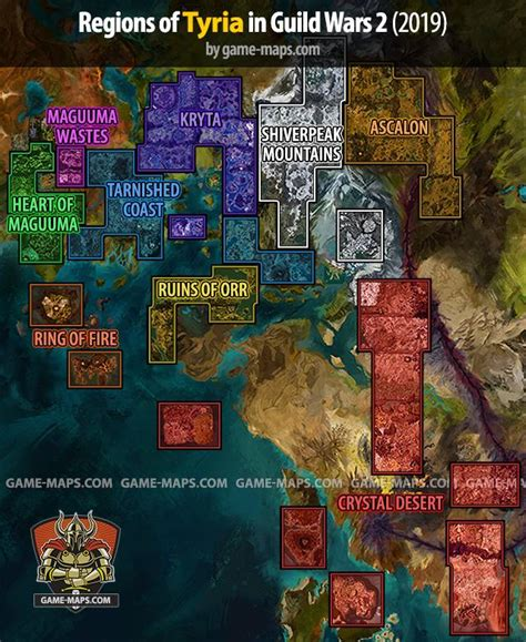 Guild Wars 2 Maps (2019)   game-maps
