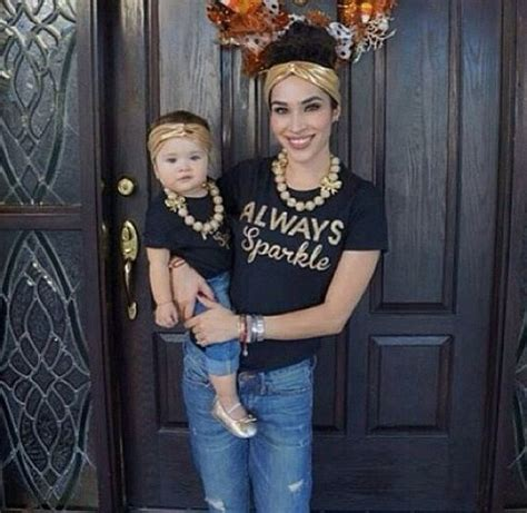 MOMMY AND ME Matching set Golden Sparkle by