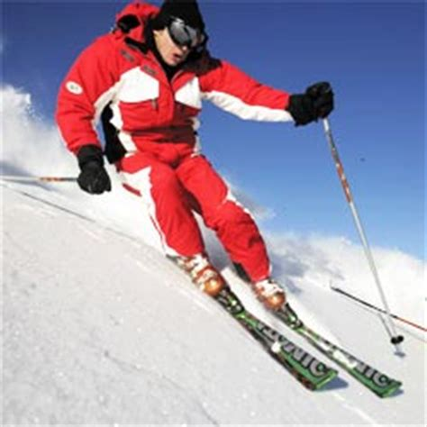 How to ski for beginners - basic moves
