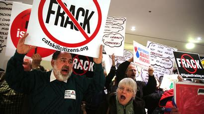 Fracking is draining water from US areas suffering major
