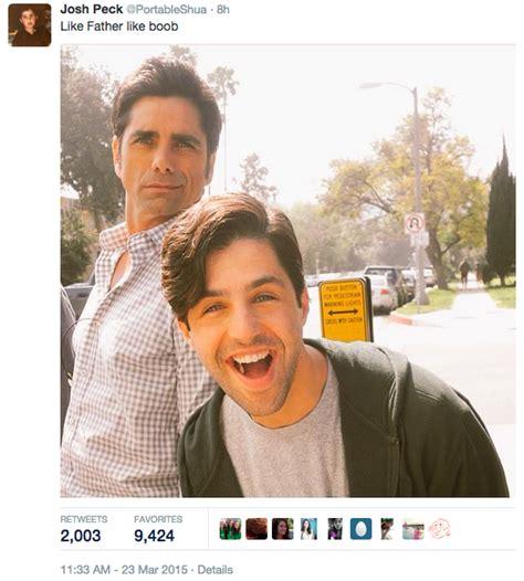And then Josh Peck disproved it