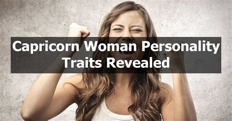 10 Capricorn Personality Traits Female You Must Know