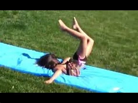 water slide fails compilation funniest - YouTube