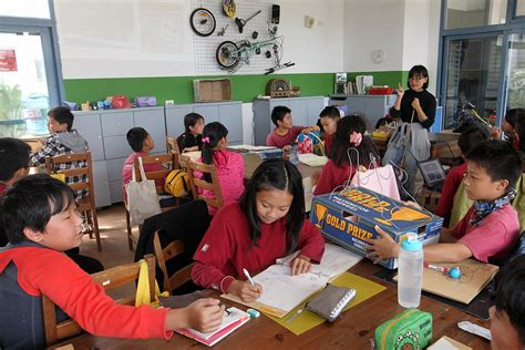 Taiwan's alternative schools offer natural settings for