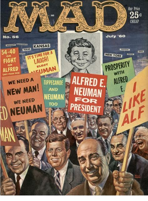 A look back at the political genius of Mad magazine covers