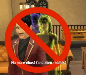 The Sims 4 Mod: No alien, ghost, bear, or knight night at