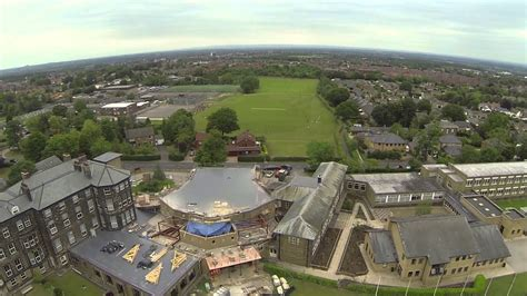 Ashville College Harrogate by Air - YouTube