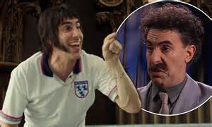 Sacha Baron Cohen unveils latest The Brothers Grimsby