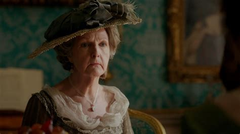 Lady Catherine arrives at Pemberley - Death Comes to
