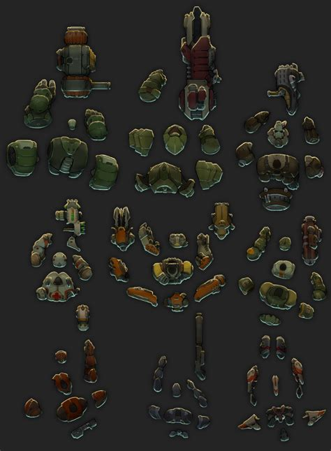 Top-Down Sci-fi Shooter Characters 2
