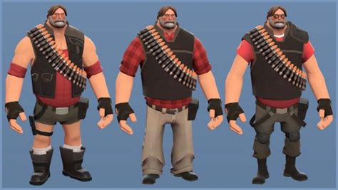 Team Fortress 2 - you can play a Heavy with Gabe Newell's
